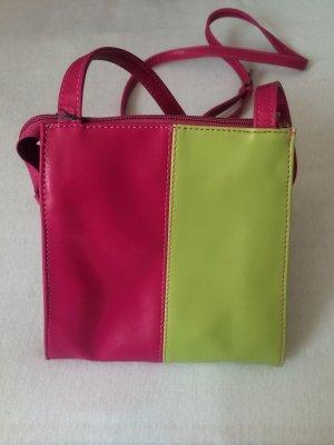 SEMPRE Umhängetasche pink/grün *NEU*