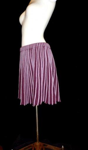SENAS - Merinowoll-Rock lila-rosa Stripes