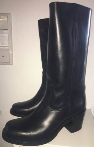 Sendra Western Boots black leather