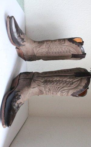 Sendra Western Boots Stiefel gr 38,5 Leder Luxus Barcelona Kauf 2017 489 npr