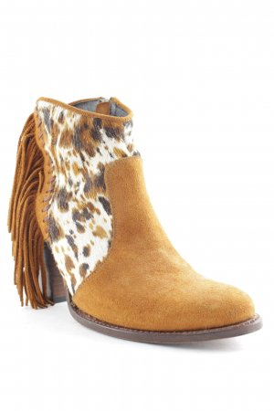 Sendra Western-Stiefeletten Animalmuster Country-Look