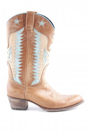 Sendra Boots western multicolore style campagnard