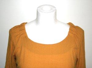 Senf-gelbe Bluse von ZARA, Gr. XS