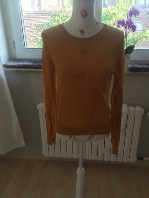 Senffarbender Langärmerliger Pullover aus Zara