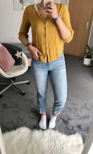 Lace Blouse lime yellow