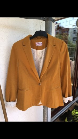 Clockhouse Blazer sweat jaune