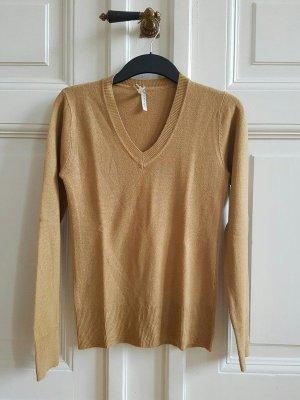 senffarbener Pullover
