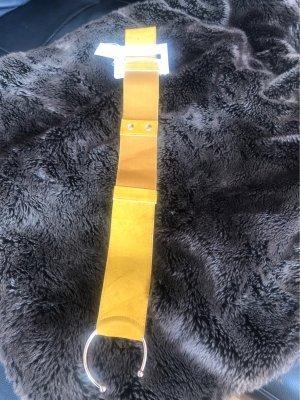 Cinturón pélvico marrón arena-naranja dorado