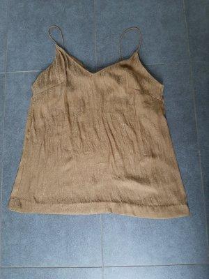 H&M Strappy Top sand brown-ocher