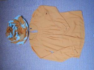 Senfgelbe Bluse mit schönen Details