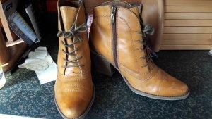 Tamaris Botines estilo vaquero marrón arena-ocre