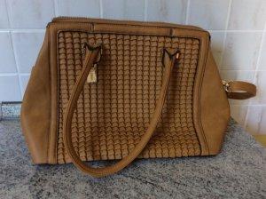 Senfgelbe Tasche Handtasche
