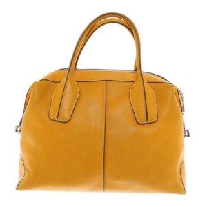 Senfgelbe Tod's Handtasche - So gut wie Neu
