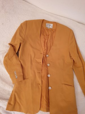 Blazer boyfriend orange clair