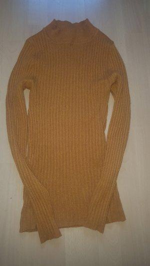Senfgelber Pullover