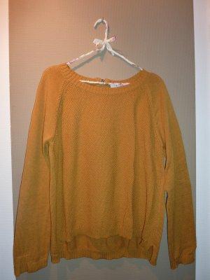Senfgelber Pullover von Monari
