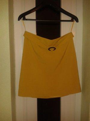Tamaris Pencil Skirt dark yellow polyester