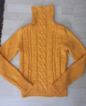 H&M Divided Pull-over à col roulé orange doré-orange clair