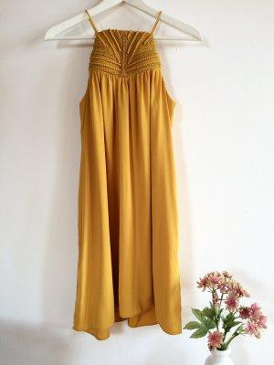 Senfgelbes Kleid H&M 36