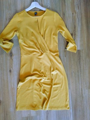 Mademoiselle YéYé Vestido elástico amarillo oscuro