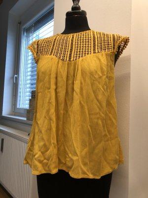 H&M Camiseta amarillo