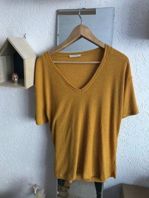 Senfgelbes Shirt von Zara