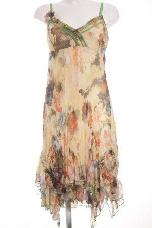 Sensation Pour Elle Chiffonkleid florales Muster Beach-Look