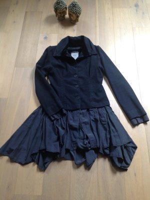 Sensationeller Blazer Mantel Gehrock Kleid v EUROPEAN CULTURE, Gr.L dunkelblau❤