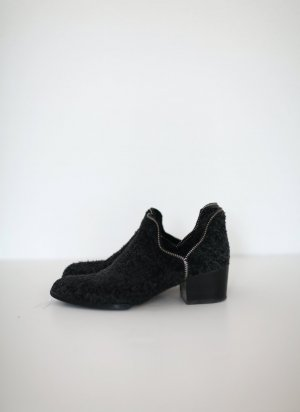 Senso Bertina Stiefeletten mausgrau Wildleder Gr. 37 Zip Detail Ankle Boots