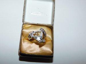 Bijou Brigitte Statement ring zilver