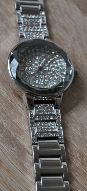 Bijou Brigitte Watch With Metal Strap silver-colored