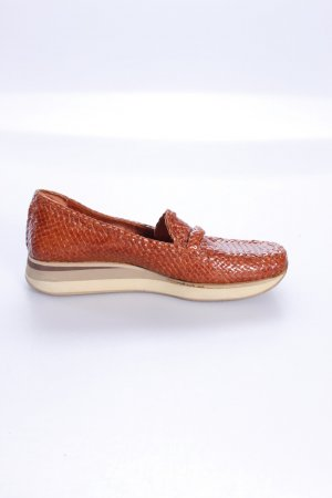 Senso sailing shoes shiny dark orange