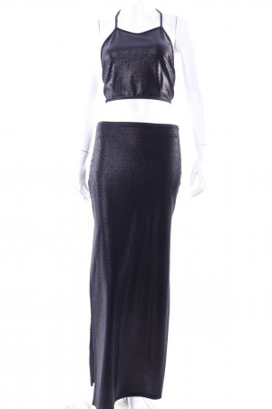 Sentimental top and maxi skirt black