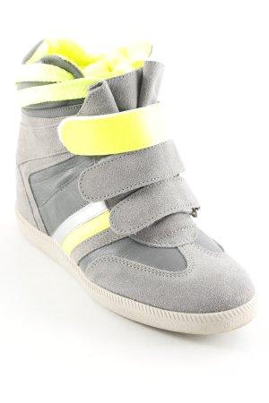 Serafini Zapatillas altas estampado a rayas estilo skater