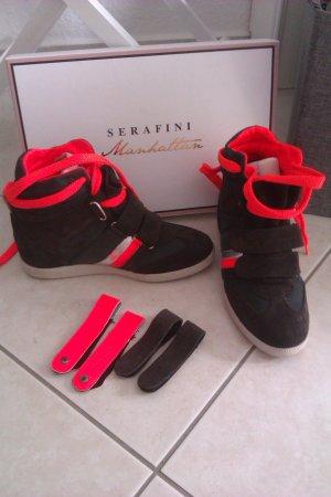 Serafini Sneaker Wedges