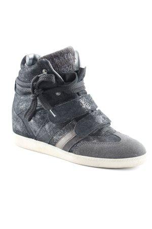 Serafini Wedge Sneaker Galaxymuster Romantik-Look