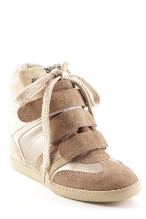 Serafini Wedge Sneaker Streifenmuster sportlicher Stil