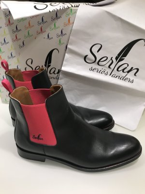 Serfan Chelsea Boots multicolored leather