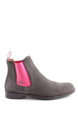 Serfan Chelsea Boot gris clair-rose style décontracté