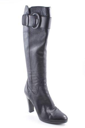 Sergio Rossi Absatz Stiefel schwarz Casual-Look