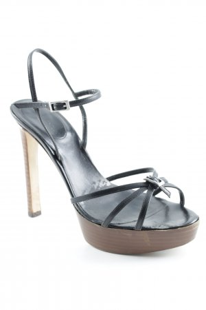 Sergio Rossi High Heel Sandal black-brown business style