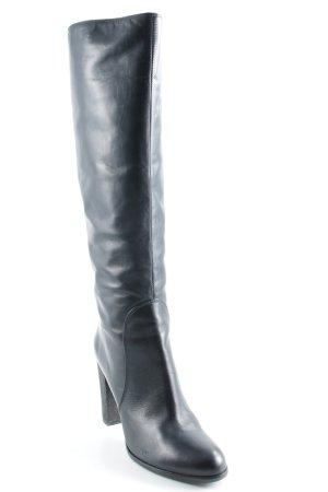 Sergio Rossi High Heel Stiefel schwarz Elegant