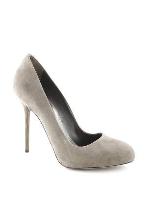 Sergio Rossi High Heels graubraun Elegant