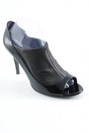Sergio Rossi High Heels black leather-look