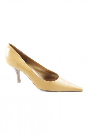 Sergio Rossi Hochfront-Pumps camel Business-Look