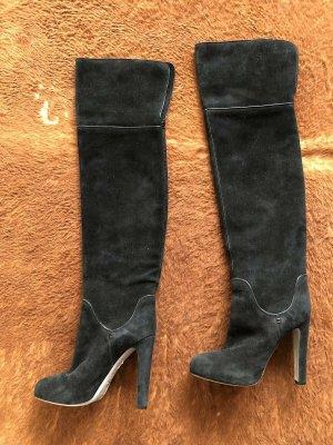 Sergio Rossi Kniehoge laarzen zwart