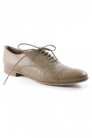 Sergio Rossi Oxford olivgrün Business-Look
