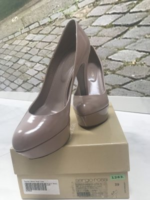 Sergio Rossi Plateau Pumps High Heels