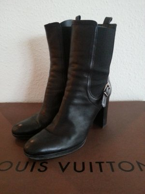 Sergio Rossi platform high boots Budapester Ankleboot