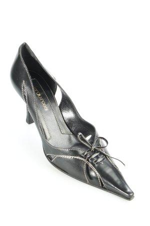 Sergio Rossi Pumps schwarz klassischer Stil